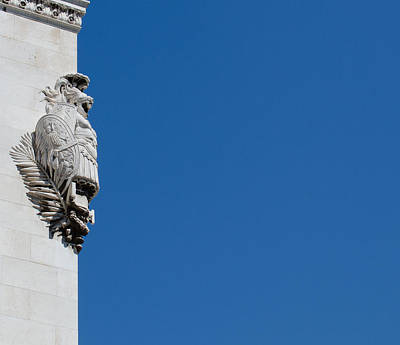 Temple Of Castor And Pollux Photograph - Altar Of The Fatherland by Andrea Mazzocchetti