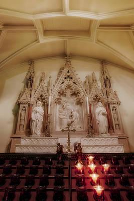 Photograph - Altar by Susan Candelario