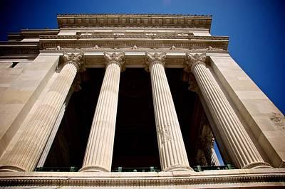 Photograph - Altare Della Patria Columns by Eric Tressler