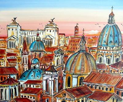 Altare Della Patria In Roma Art Print