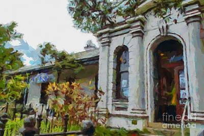 Digital Art - Altenberg Gallery In Braidwood by Fran Woods