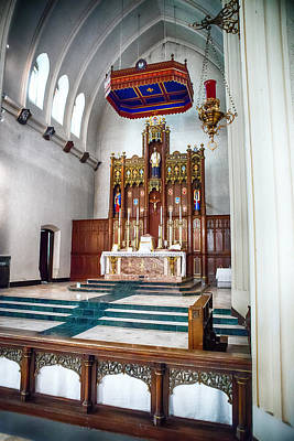 Photograph - Alter In The Chancel by Sennie Pierson
