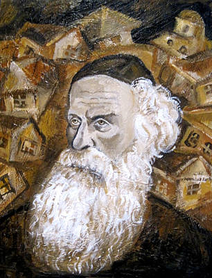 Alter Rebbe Art Print by Leon Zernitsky