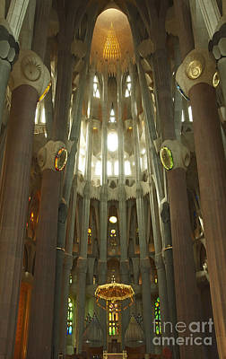 Photograph - Alter Sagrada Familia by Cindy Lee Longhini