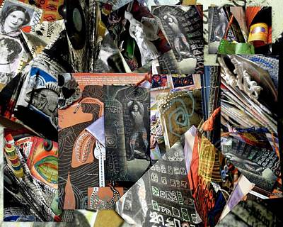 Mixed Media - Altered Book Collage by Clarity Artists