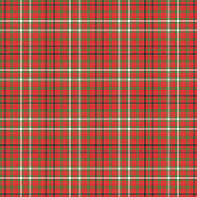 Digital Art - Altered Scott Tartan by Gregory Scott
