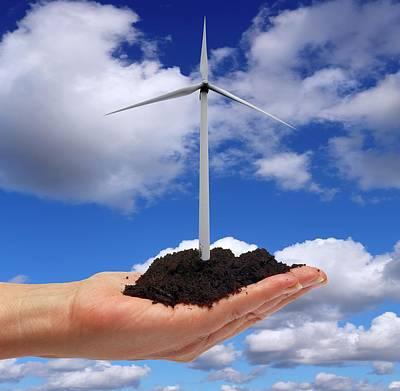 Alternative Energy Sources Art Print