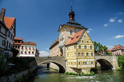 Photograph - Altes Brückenrathaus, Bamberg by John Lawson, Belhaven