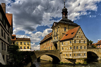 Photograph - Altes Rathaus In Bamberg Germany by Robert Woodward