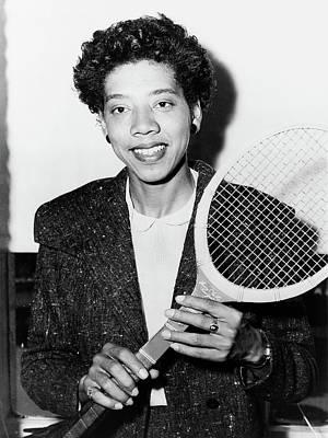 Althea Photograph - Althea Gibson (1927-2003) by Granger