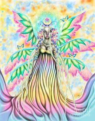 Altheia's Light Art Print by Coriander  Shea