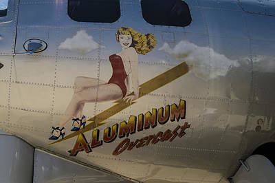 Photograph - Aluminum Overcast  by Wayne Meyer