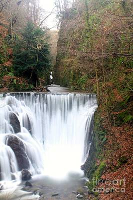 Photograph - Alva Glen Waterfalls by David Grant