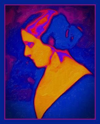 Digital Art - Alvira's Daughter by Richard Arfsten