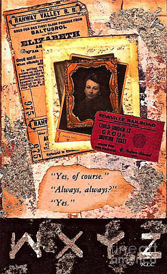 Mixed Media - Always Always by Bellesouth Studio