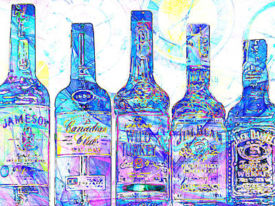 Always Carry A Bottle Of Whiskey In Case Of Snakebite 20140917 V1 Art Print by Wingsdomain Art and Photography