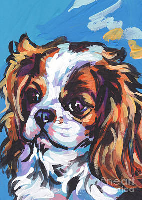 Bright Colors Painting - Always Cavalier by Lea S