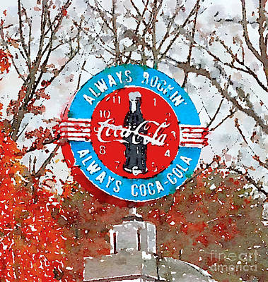 Photograph - Always Coca-cola by Kerri Farley