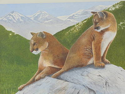 Painting - Always Hunting by James Lawler