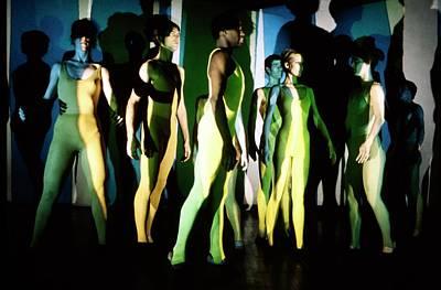Photograph - Alwin Nikolais Dance Theater by Harry Benson