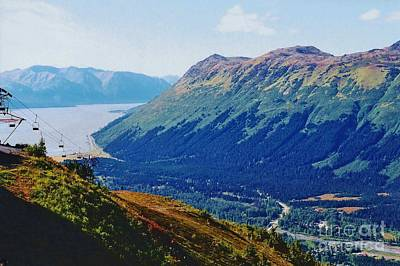 Photograph - Alyeska Alaska by D Hackett