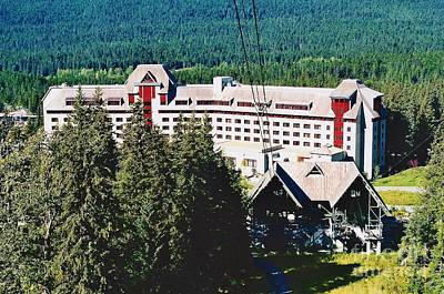 Photograph - Alyeska Hotel by D Hackett