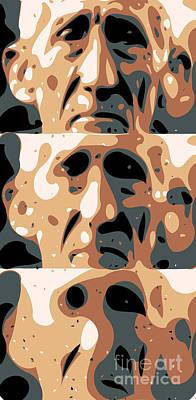Senior Digital Art - Alzheimer's by Chris Butler