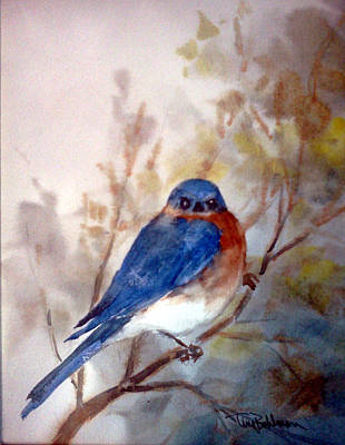 Painting - Am I Blue by Tina Bohlman