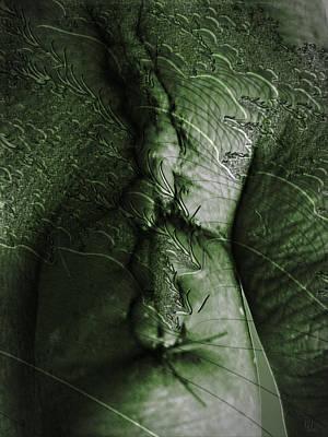 Twine Digital Art - Am I Hulk by Nafets Nuarb