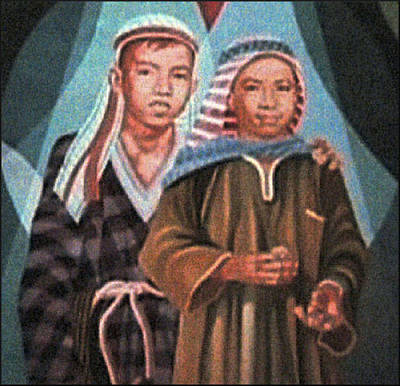 Painting - Am I My Brothers Keeper by Glenn Bautista