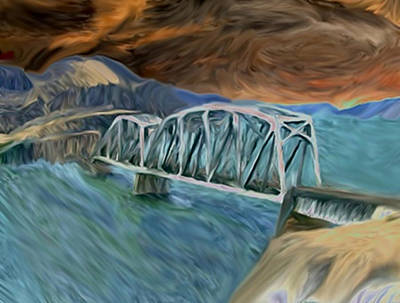 Painting - Am I The Bridge by Dennis Buckman