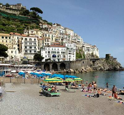 Photograph - Amalfi Beach by Marilyn Dunlap