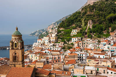 Photograph - Amalfi City by Gurgen Bakhshetsyan