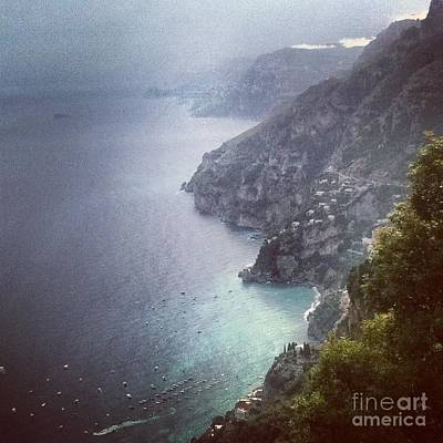 Photograph - Amalfi Coast And Beyond by H Hoffman
