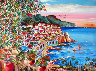 Amalfi Coast Art Print