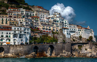 Photograph - Amalfi Coast by Uri Baruch