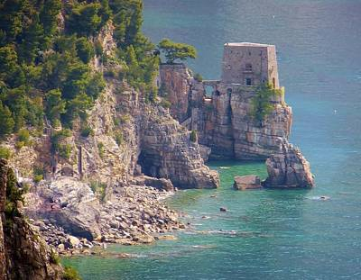 Photograph - Amalfi Coast Watchtower by Marilyn Dunlap