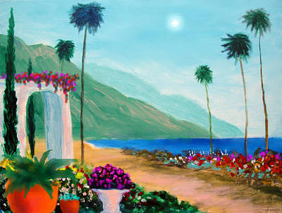 Amalfi Colors Art Print by Larry Cirigliano