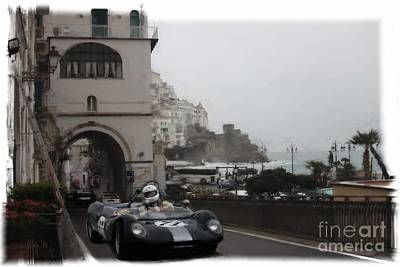 Photograph - Amalfi Drive by Tom Griffithe