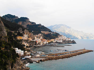Amalfi Italy Art Print by Bill Cannon