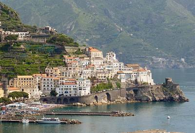 Amalfi Photograph - Amalfi Splendor by Marilyn Dunlap