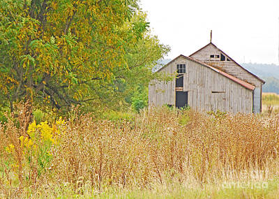 Photograph - Amana Barn by Mary Carol Story