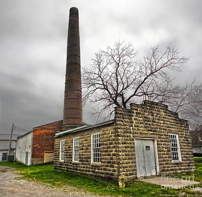 Photograph - Amana Colonies Old Brewery - 01 by Gregory Dyer