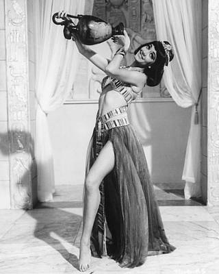 Cleo Photograph - Amanda Barrie In Carry On Cleo  by Silver Screen