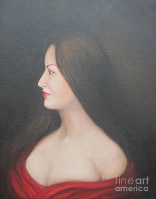 Painting - Amanda by Sonia Flores Ruiz