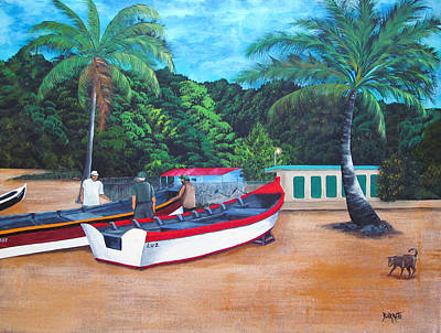 Painting - Amaneciendo by Gloria E Barreto-Rodriguez