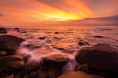 Photograph - Amapas Sunset by Shanti Gilbert
