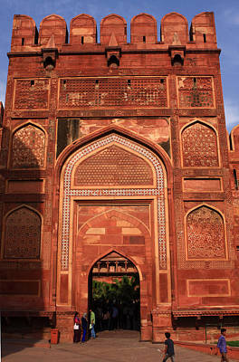 Photograph - Amar Singh Gate Red Fort Agra  by Aidan Moran
