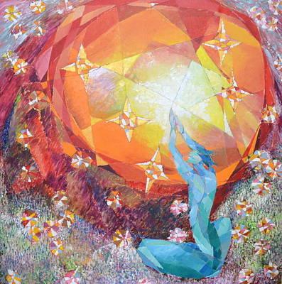 Painting - Amaranthine by Yogendra  Sethi