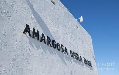 Photograph - Amargosa Opera House by Dan Suzio